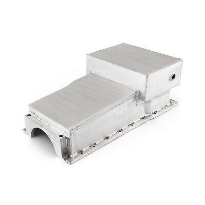 Ford 351W Windsor 7Qt Fabricated Drag Front Sump Oil Pan SVO Block