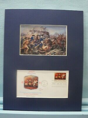 Benedict Arnold wounded at Battle of Bemis Heights & Saratoga First Day Cover