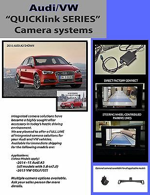 Integrated Backup Camera Safety System Bmw 1 3 5 6 7 Series 2009-2012