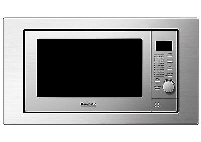 Baumatic BMGI250SS 25 litre built-in microwave oven with grill