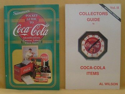 2 Coca-Cola Price Guides by B J Summers 1998 & Al Wilson 1989