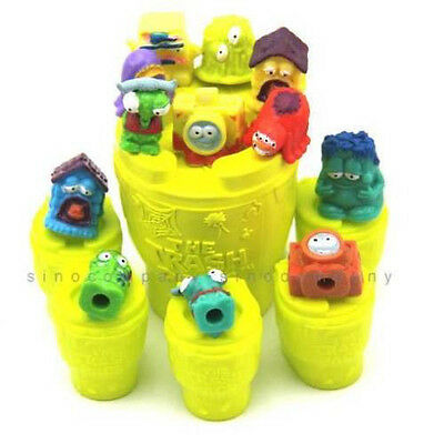 Promotion 6 Can & 12 TRASHIES THE TRASH PACK toilet TOYS monsters Figure M472