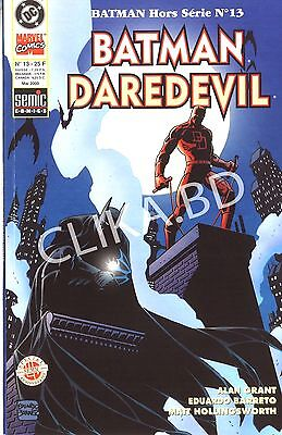 BATMAN HORS SERIE13 -NEUF  DAREDEVIL-2000-SEMIC - 62 Pages- - Non LU ou OUVERT.!