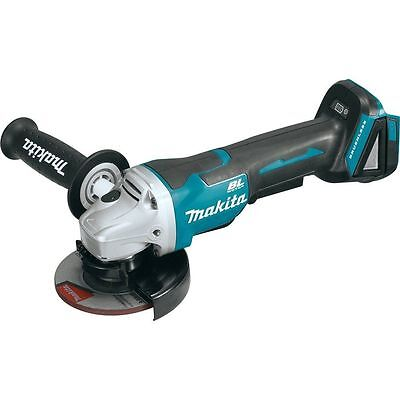 """Makita XAG06Z 18V Brushless 4-1/2"""" Right Angle Grinder LXT Cut-Off Paddle Switch"""