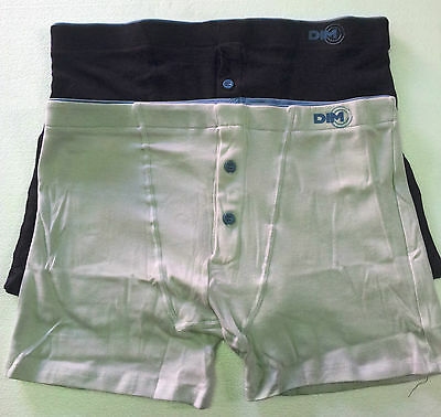 DIM boxer man with button bipack linea COMFORT COTTON EXTENSIBLE