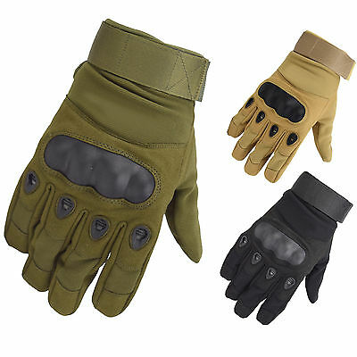 Outdoor Airsoft Hunting Motorcycle Cycling Paintball Working Tactical Men Glove