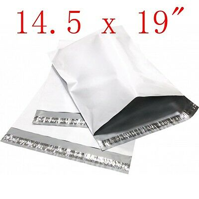 """10 pcs 14.5 x 19 """" Poly Mailers Shipping Envelope Plastic Bags, 2.35 Mil"""
