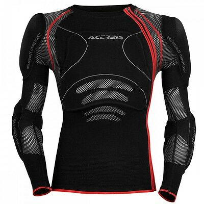 acerbis x-fit motocross mountainbike enduro bmx brace compatable body armour