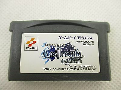 Game Boy Advance CASTLEVANIA HARMONY OF DISSONANCE Nintendo Cartridge Only gbac