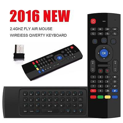Quality MEASY 2.4GHz Wireless Air Mouse Remote keyboard For Android TV BOX PC