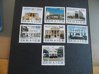 JAMAICA 2008 BUILDINGS DEFINITIVES 7v NEW ISSUE MNH
