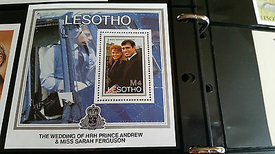 Lesotho 1986 Sg Ms739 Royal Wedding Mnh
