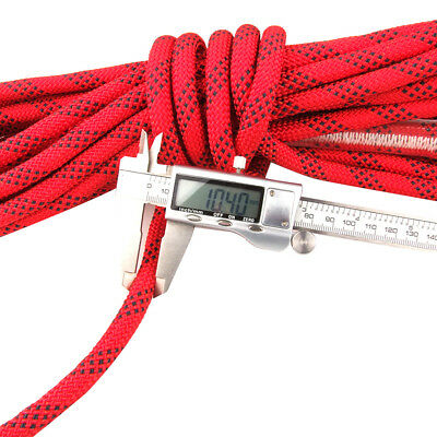 12mm Safety Climbing Tree Rock Static Sling Rappelling Rope Cord Equipment