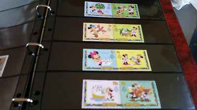 Lesotho 1982 Sg 523-529 Christmas,walt Disney Cartoons Mnh