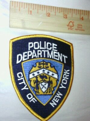 1 New York Police Shoulder Patch NYC