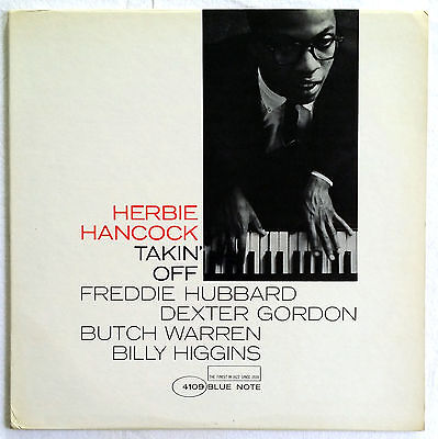 TAKIN' OFF Herbie Hancock original Blue Note 4109 Near Mint Mono