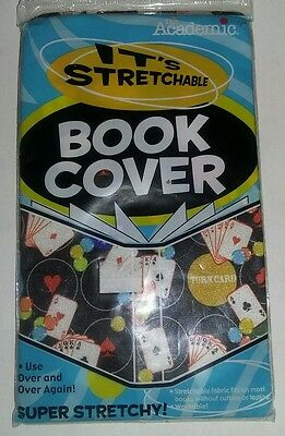 """It's Academic Stretchable Book Covers (single) - Fits Books up to 8.5 x 11"""""""