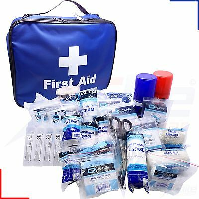 Touchline Elite Sports First Aid Kit Team Club Injury Blue Bag or Refill