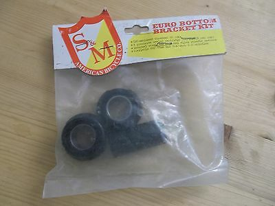 NOS S&M alloy Euro BB kit Made in USA mid school BMX Fixed Gear