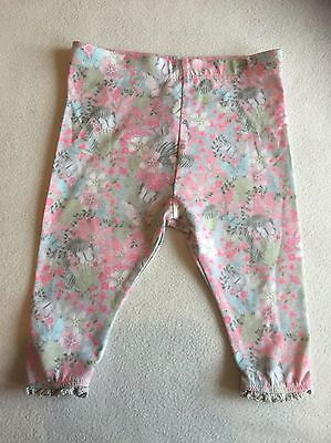Baby Girls Clothes 6-9  Months - Pretty  Leggings Trousers -