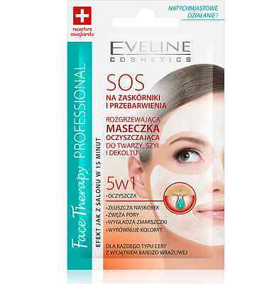 Eveline Cosmetics Warming Cleansing Face Neck Mask 5In1