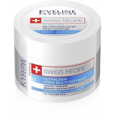Eveline Cosmetics Swiss Recipe Ultralight Multi Nourishing Face Cream