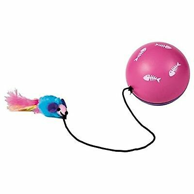 Trixie 4564 Turbinio Ball With Motor Mouse Pet Cat Toy Plastic Toy XMAS GIFT NEW