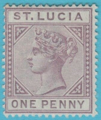 St. Lucia 29 Die B Mint Hinged * No Faults Extra Fine !
