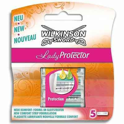 Genuine Wilkinson Sword Lady Protector Razor Shaving Blades Refills - 10 Pack