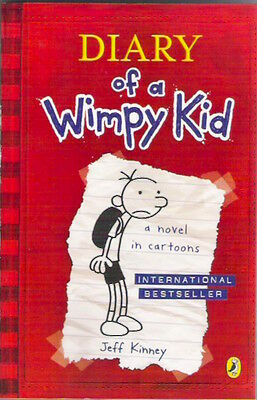 DIARY OF A WIMPY KID 1 Jeff Kinney New! 2014 pb Children's Classic Collectable