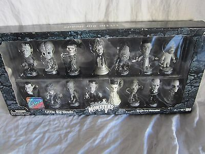 Universal Monster 15 piece set, Sideshow Silver Edition. (BH)