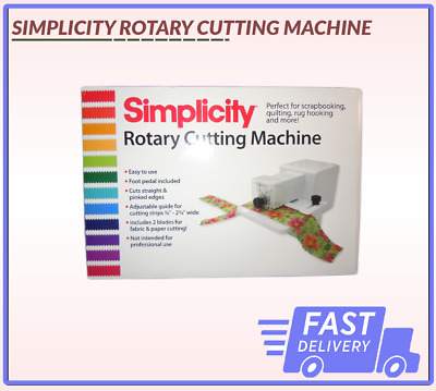 Rotary Cutting Machine Simplicity Uk Seller Same Day Dispatch Fast Delivery