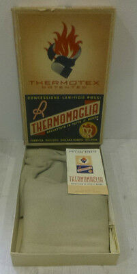 Thermomaglia Thermotex Patented Lanerossi Con Scatola Vintage