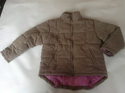 Girls Genuine Shire Sports Leisure Padded Coat Jacket SIZE 7-8 Years Old Vgc