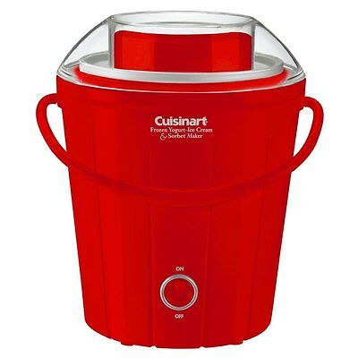 Cuisinart Bucket Ice Cream Maker -new with damaged box