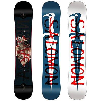 Tavola All Mountain Freestyle Snowboard SALOMON ASSASSIN Taglia 158 2017