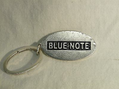 Blue Note .925 Sterling Silver Key Chain