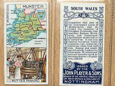 Players cigarette cards. Full set of 25. Counties/Industries 1914. Cat value £65