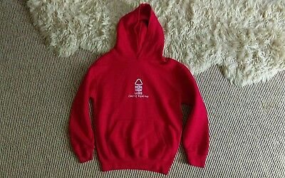 nottingham forest girls hoodie age 9-10