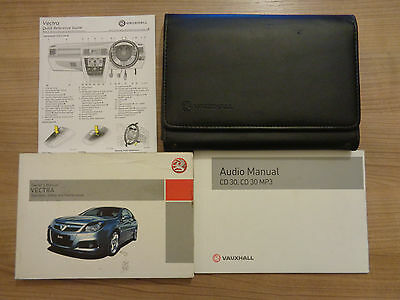 Vauxhall Vectra Owners Handbook/Manual and Pack 05-09