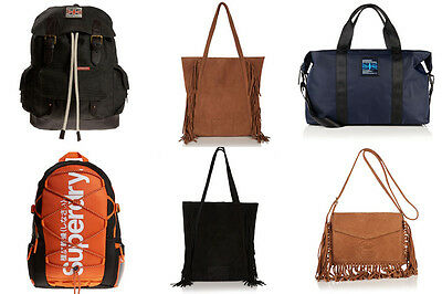 New Unisex Superdry Bags Selection - Various Styles & Colours