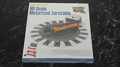 "Bachmann 1/87 Ho Scale E-Z Track Motorized 10"" Turntable & Dcc Ready # 46299 F/s"