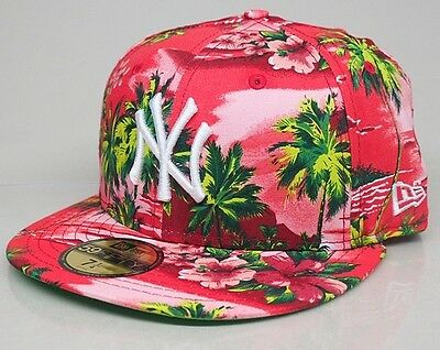 New Era 59fifty Allover Island New York Yankees 56.8cm Immaculate RRP £25