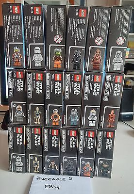 Lego Star Wars - Microfighters - Serie 1-2-3 Complete -