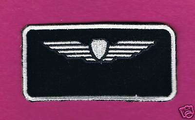 Israel Iaf Pilot Tag Air-Reconnaissance / Security Nametag Patch