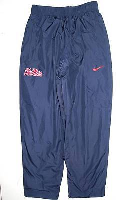 NEW Nike Ole Miss Rebels - Navy Poly Wind Pants (Multiple Sizes)