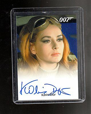 2016 James Bond Archives  Spectre Edition Karin Dor autographed card