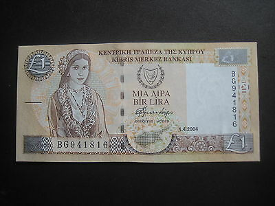 Cyprus 1997-2001 Issue - 01.04.2004 - £1 - Uncirculated