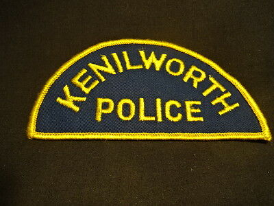 Kenilworth Police Collectible Sewing Patch Patches