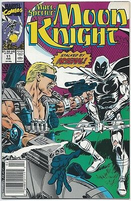 Marc Spector: Moon Knight # 11 VF 1990